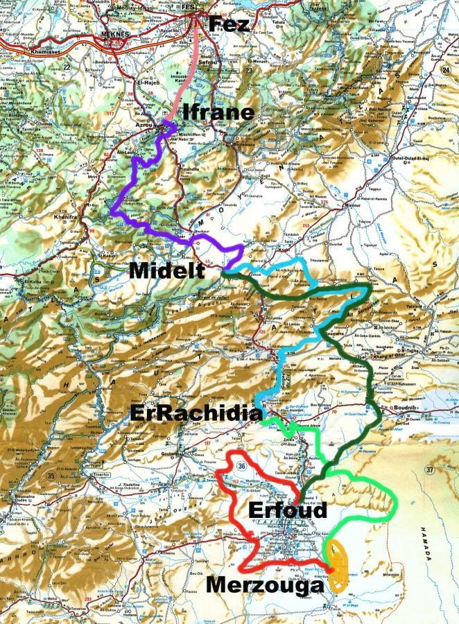 track ruta